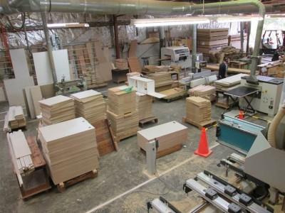 Beginning production for a student residential college in Dunedin. Photo: ©Otago Furniture