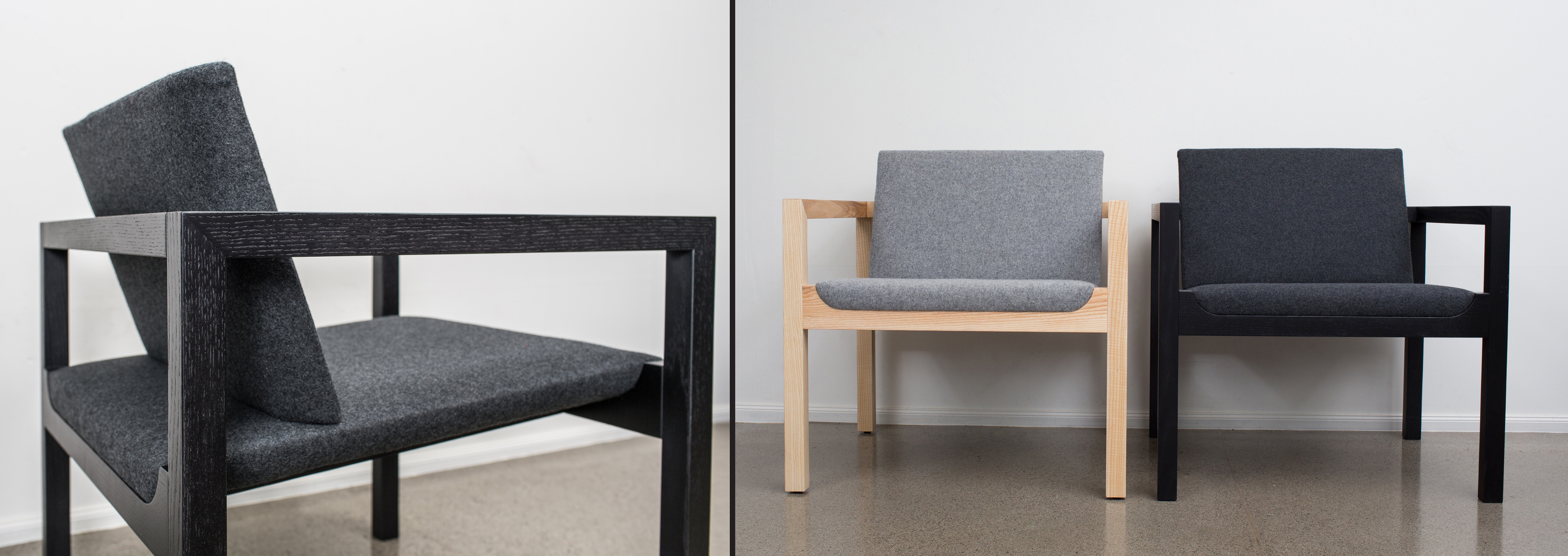 Flight: minimal, unpretentious detailing and high-quality upholstery. Photo: © The Earnest Workshop