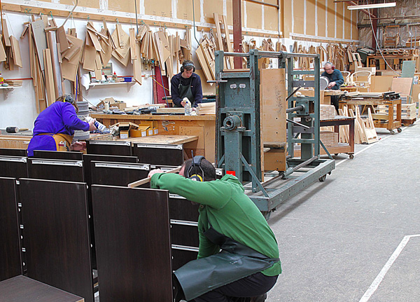 Cabinetmakers at Otago Furniture
